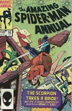 Marvel Annual Comics Amazing Spiderman Scorpion Takes A Bride #18 Dec 84 Lot#2