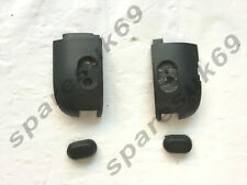 HP Mini 210-3000 Bottom Plastic Hinge Covers Caps inc Rubber Feet x2
