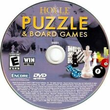 Hoyle Puzzle & Board Games Pc Windows Xp Vista 7 8 10 New Dvd-Rom