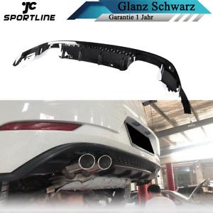 Diffusor Stoßstangen Heckdifffüsor für VW Golf 7 VII MK7 7.5 Hecksnsatz Spoiler