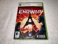 Tom Clancy's EndWar (Microsoft Xbox 360 - PAL Import) Game Complete Nr Mint