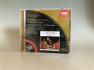 Faure: Requiem, Pavane . Durufle: Requiem Eillcocks Ledger CD EMI