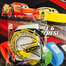 Disney.Pixar CARS 3 Children's Digital Watch Plastic Band Ages 3+ Yellow, Subway
