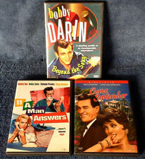 BOBBY DARIN RELATED - COME SEPT., IF A MAN ANSWERS , BEYOND THE SONG - (3) DVD'S