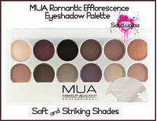 MUA MAKEUP ACADEMY EYESHADOW PALETTE ROMANTIC EFFLORESCENCE SMOKEY EYE GIFT