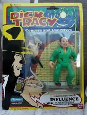 "INFLUENCE DICK TRACY Ban dai comic FIGURE 4"" Coppers gangsters  vintage 1993"