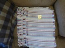 PLACEMATS BY NEOPOLITAN SET FOUR HAND FRINGE MACHINE WASHABLE NEW