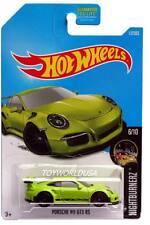 2017 Hot Wheels #117 Nightburnerz Porsche 911 GT3 RS
