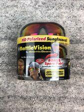 Battle Vision Sunglasses Black Men Women Flexible Spectacles Lenses BAT001