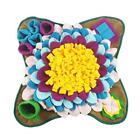50x50cm Pet Dog Snuffle Mat Nose Smell Training Sniffing Pad Slow Feeding Bowl