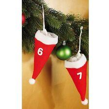 Mützen-Adventskalender Advents-Kalender Adwentskalender mit 24 Weihnachtsmützen