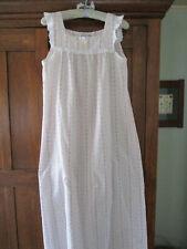 Lanz of Salzburg Sleeveless Floral Nightgown Size S Sleeveless Cotton