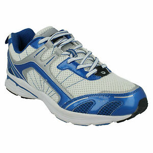 MENS DASH CASUAL LACE UP LIGHTWEIGHT WALKING RUNNING SPORTS TRAINERS HI TEC