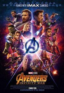 Avenger Movie Print Glossy Canvas Wall Poster Decoration Home Size A4 UK