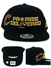 bc789d1b9fb Size  One Size. Cleveland Cavaliers New Adidas Cavs Promise Delivered Black  Era Snapback Hat Cap