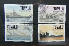 Tuvalu 1981 Second World War Ships 2nd Series set Fine Used