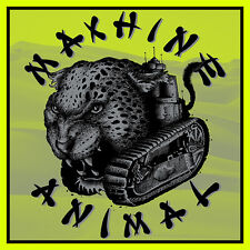 """MACHINE ANIMAL 'Live In Wreck 7"""" - edition of 200 pink / clear vinyl Mono Men"""