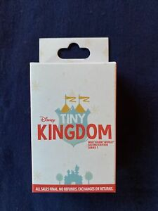 Disney Tiny Kingdom Series 1 2nd Second Edition Mystery Box - 3 Pins - UNOPENED