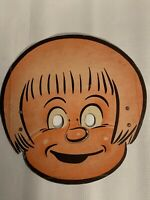 Vintage Wheaties Cereal Box Mask 1940's Perry Winkle