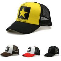 Gorras simples gorras gorra de béisbol hombres/Women hiphop Sport Hat ^S