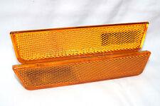 Front Side Marker Parking Light Lamp One Pair for 2008-2014 Dodge Challenger