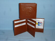 WASHINGTON STATE COUGARS   Leather BiFold Wallet    NEW    brown 4 +