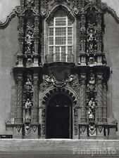 1926 CALIFORNIA Architecture San Diego Museum Balboa Park Photo Art ~ E.O. HOPPE