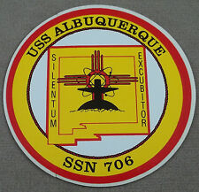 US Navy USS Albuquerque SSN - 706 Decal - Sticker