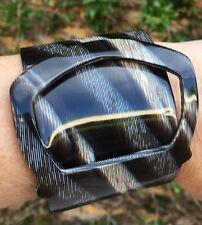 PONO, Joan Goodman Italian Resin Buckle Bracelet ,Large