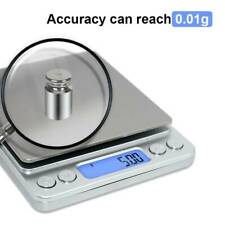 Kitchen Scale Digital Electronic Food Weighing Scale Measure Accurate 3000g*.01g