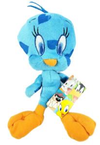 "Looney Tunes Tweety Bird 8"" Plush Blue Hearts Stuffed Animal Nanco"