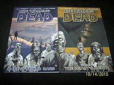 AMC Image Comics The Walking Dead Volume 3 and Volume 4 Lot - C17