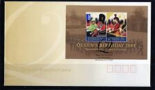 2009 Australia Queen's Birthday 09 Set Of 2 Mini Sheet FDC, Mint Condition