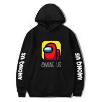 Unisex Among Us Crewmate Hoodie Pullover Sweater Sweatshirt Winter Kids Size