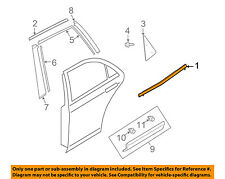 MAZDA OEM 07-15 CX-9 Rear-Window Sweep Belt Felt Molding Left TD1150670