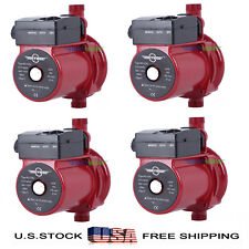 Pack of 4,110-120V Automatic Booster Pump NPT3/4'' Hot Water Circulation Pump