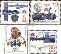 DDR 2359-2362 (kompl.Ausgabe) gestempelt 1978 Weltraumflug UdSSR-DDR