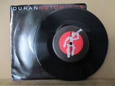 "Duran Duran – Notorious     Vinyl 7"" Single UK 1986 Synth Pop      EMI - DDN 45"