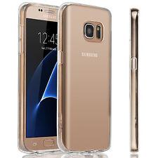 For Samsung Galaxy S7 Slim Case Silicone Bumper Gel Soft Cover TPU Rub