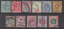 10/- Denomination British Edward VII Stamps