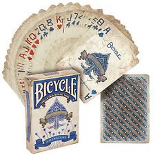 CARTE DA GIOCO BICYCLE AMERICANA,blu poker size