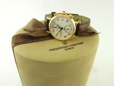 Frederique Constant Classics Lady Chronograph Damenuhr Quartz Ref FC291MC2R5
