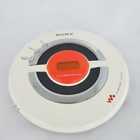 Sony Sports CD Walkman D-EJ100 White G-Protection Portable Player PARTS ONLY