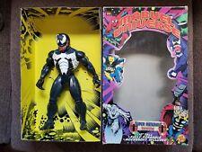 """Marvel Universe Super Naturals VENOM 10"""" inches tall TOY BIZ 1999 Spider-man"""