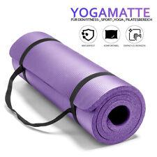 Yogamatte Fitnessmatte Gymnastikmatte Pilates Bodenmatte 10mm/15mm