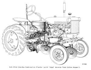 IH International Harvester Farmall Cub 170 Planter Operators Manual