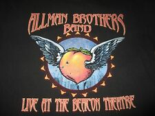 """2005 ALLMAN BROTHERS BAND """"Live at the Beacon Theater 9 Nights"""" (LG) T-Shirt NYC"""