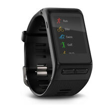 Garmin VivoActive HR Heart Rate Monitor Black Regular Size 010-01605-03 Watch