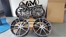 19 Zoll Motec Radical Alu Felgen 8,5x19 et45 5x112 grau poliert für Audi S3 RS3