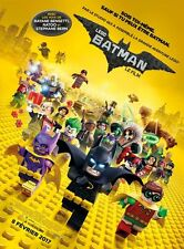 Affiche Pliée 120x160cm LEGO BATMAN, LE FILM /The Lego Batman Movie (2017) NEUVE